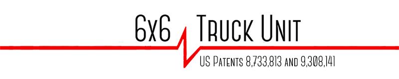 6x6 off-road truck